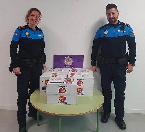 Donación a la Policía Local de Torrejón de Ardoz